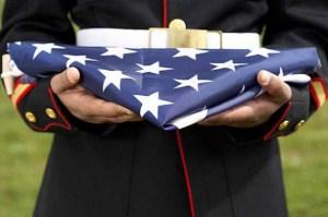 Folded-American-Flag